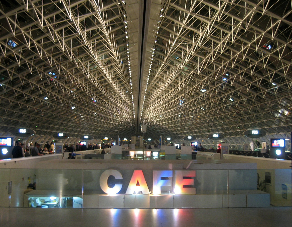 Charles De Gaulle Airport Terminal by thombo2, on Flickr