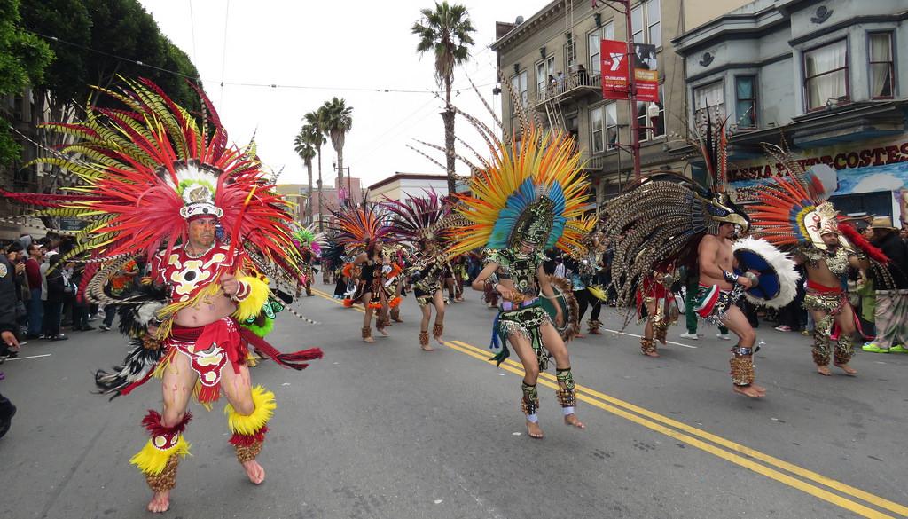 50. Xipe Totec Aztec Dancers --- Carnava by sfmission.com, on Flickr