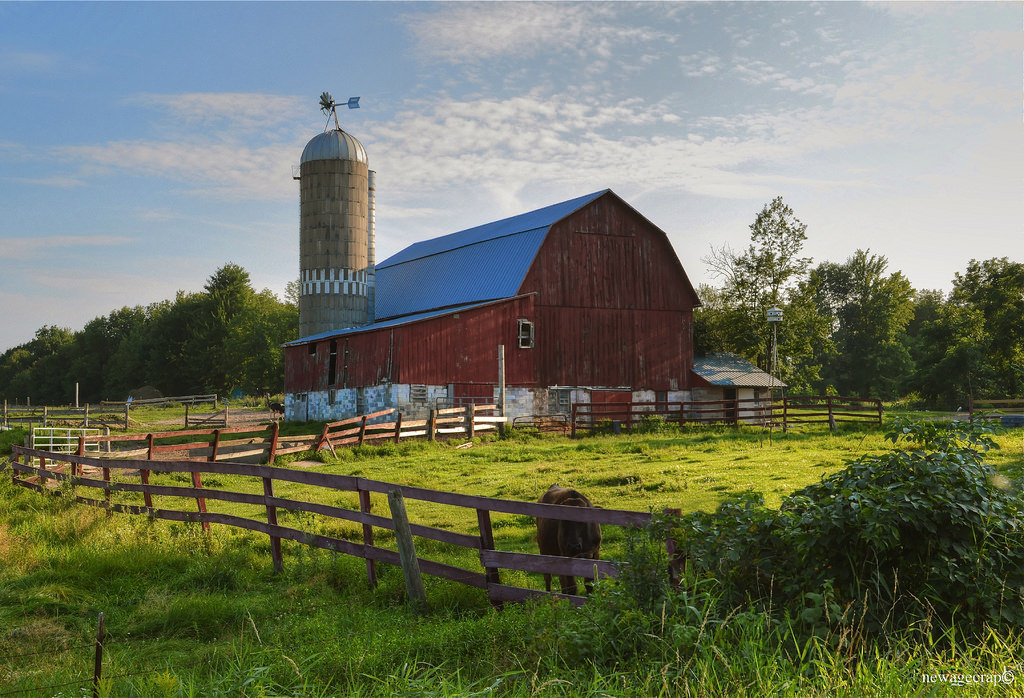 Starr Road Amish Farm by newagecrap, on Flickr