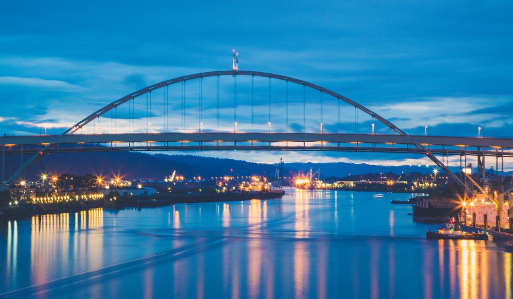 Fremont Bridge Sunset, Portland by Tony Webster, on Flickr