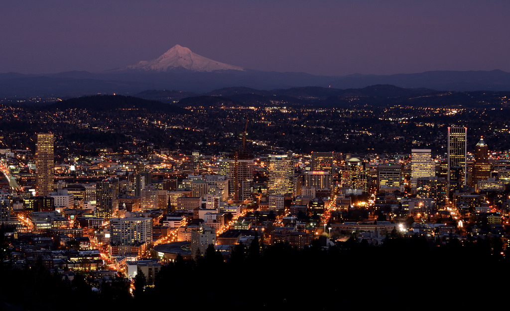 Portland at Dusk by Alejandro Rdguez, on Flickr