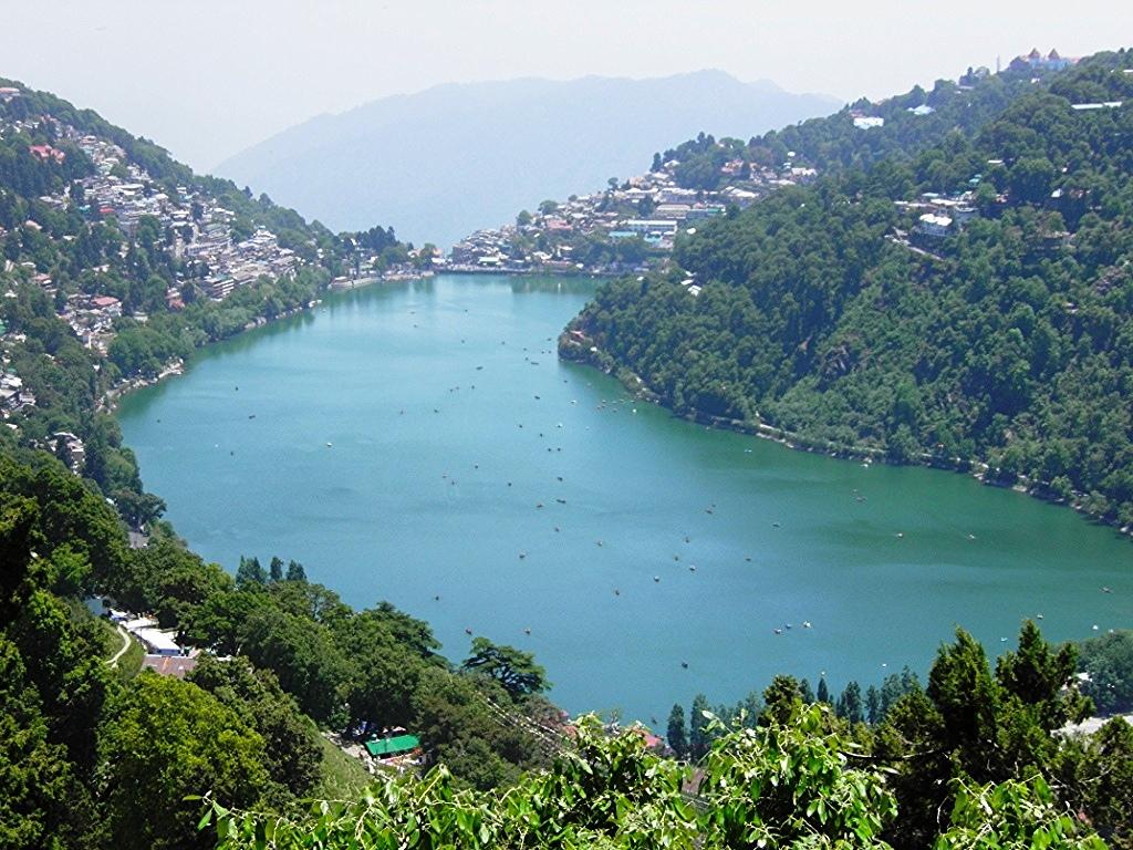Naini Lake (Top View) by Anirudh - Singh, on Flickr