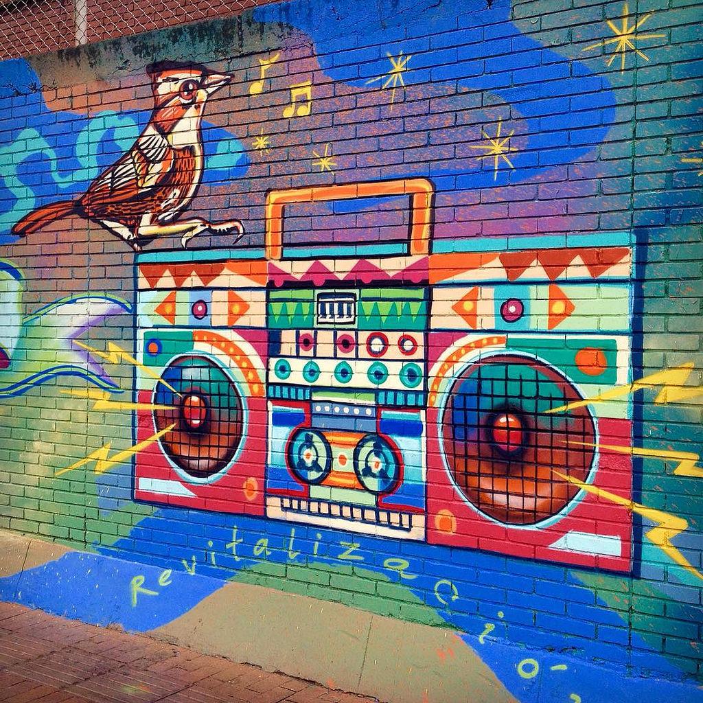 Detalle del mural 'Las Cruces: Memoria d by GUACHE ., on Flickr