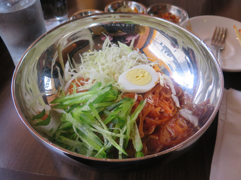 Jjol Myeon noodles at Zzan Korean Cuisin by Gary Soup, on Flickr