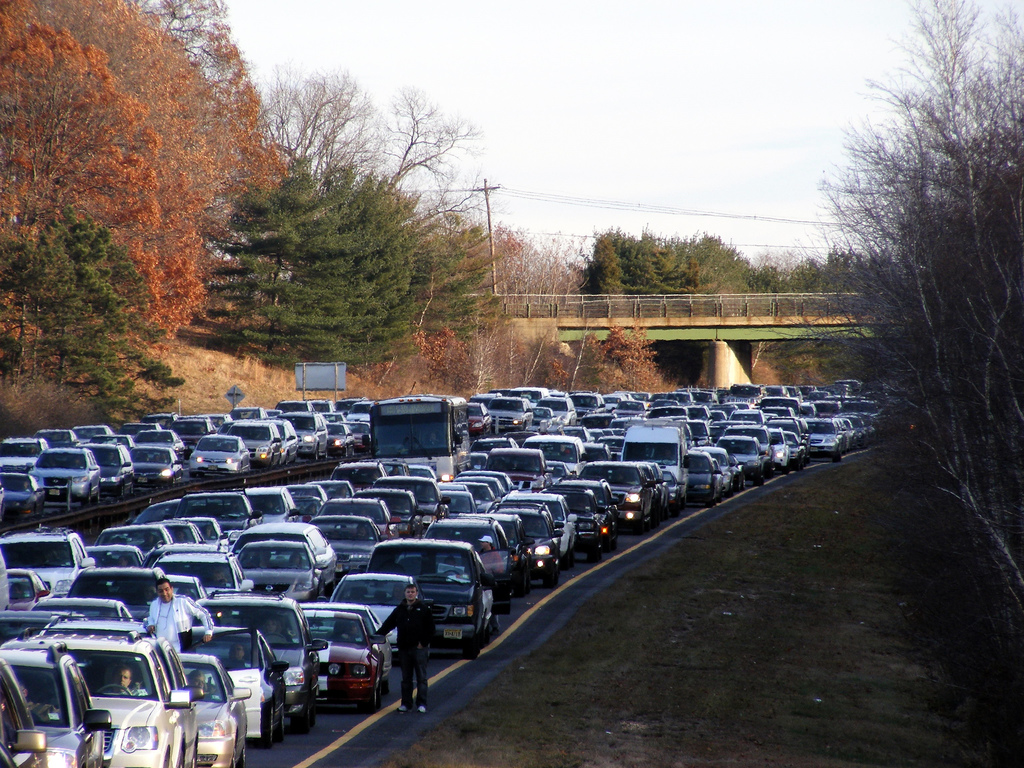 Traffic on the GSP by tedkerwin, on Flickr
