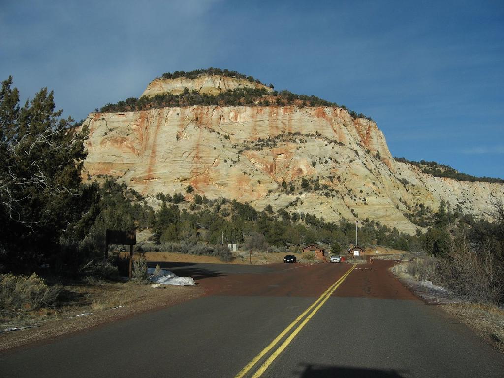 Zion-Mt. Carmel Highway, East Entrance, by Ken Lund, on Flickr
