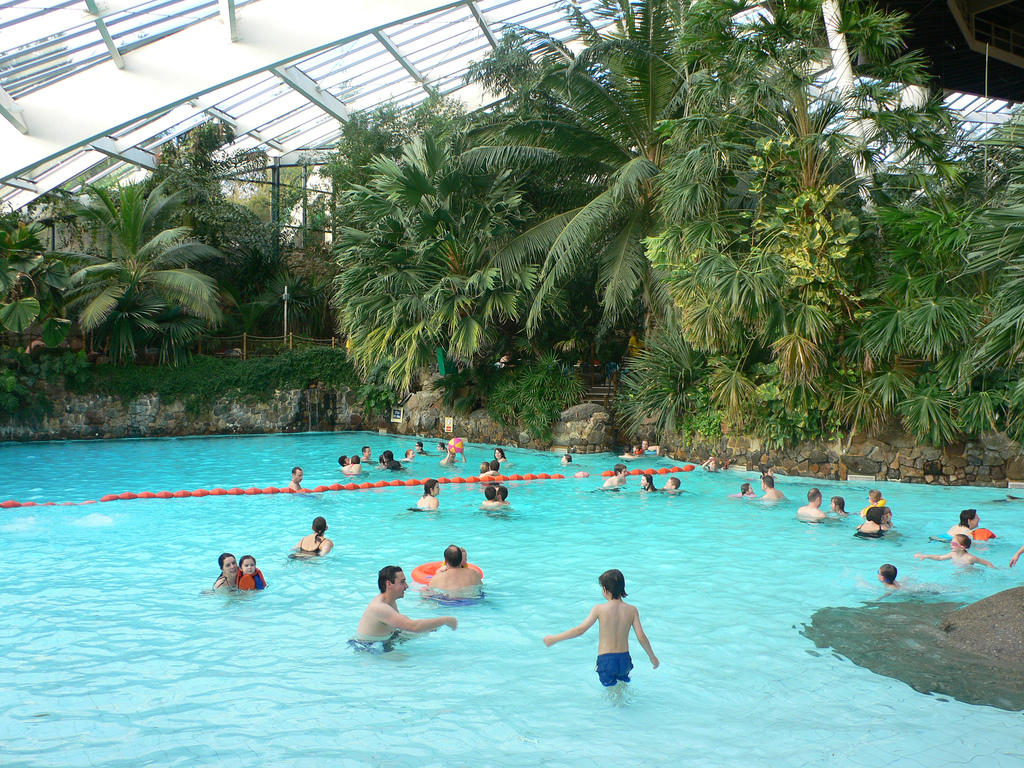 Pool dome at Centerparcs, Longleat by heatheronhertravels, on Flickr