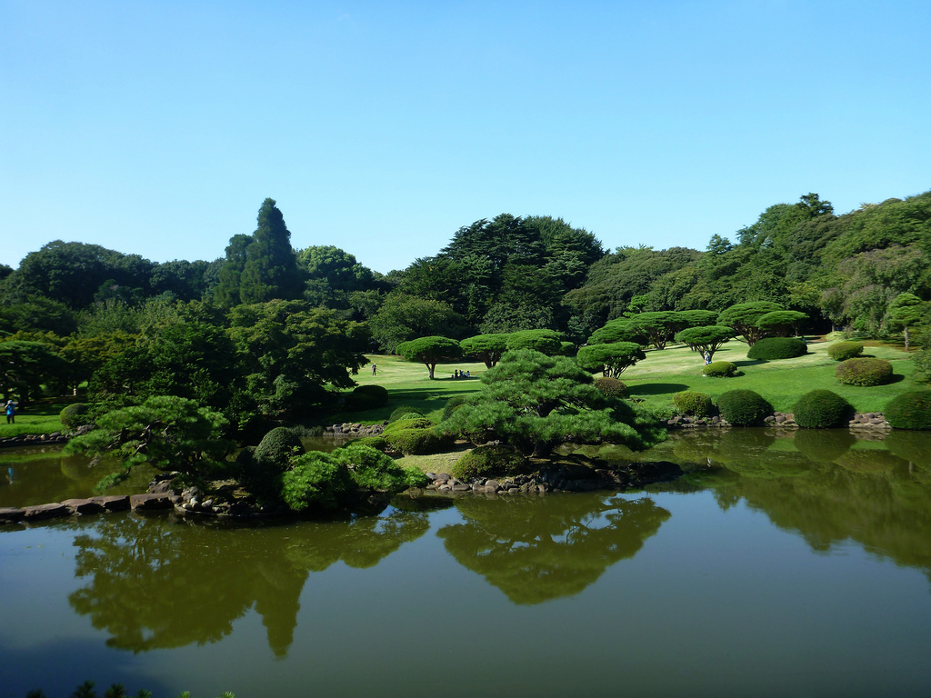 Shinjuku Gyoen National Garden by Iman Mosaad, on Flickr