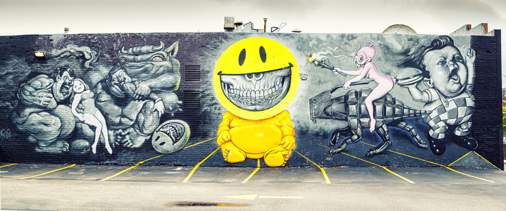 Parking Lot Art Mural Richmond, VA by Mobilus In Mobili, on Flickr