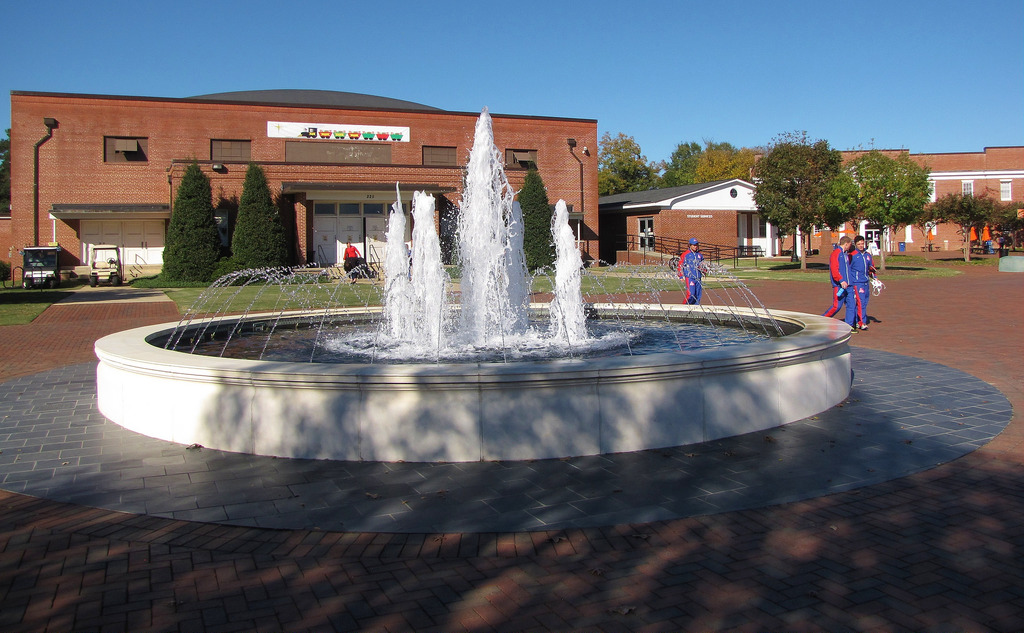Fountain at Campbell by Gerry Dincher, on Flickr