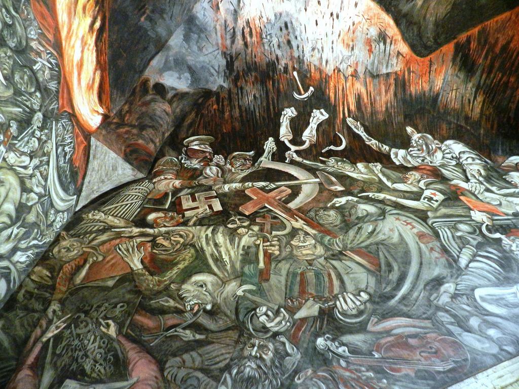 "Orozco's Mural ""Carnival of the ideologi by Luna sin estrellas, on Flickr"
