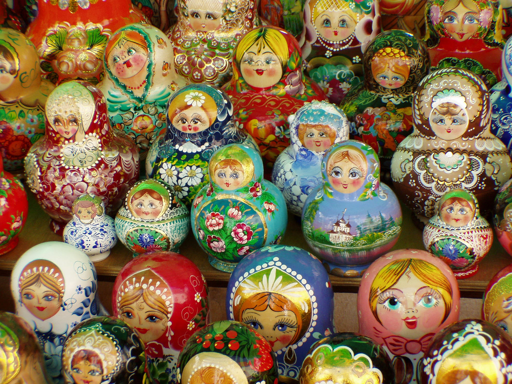 Matryoshka Dolls, Riga by twiga_swala, on Flickr