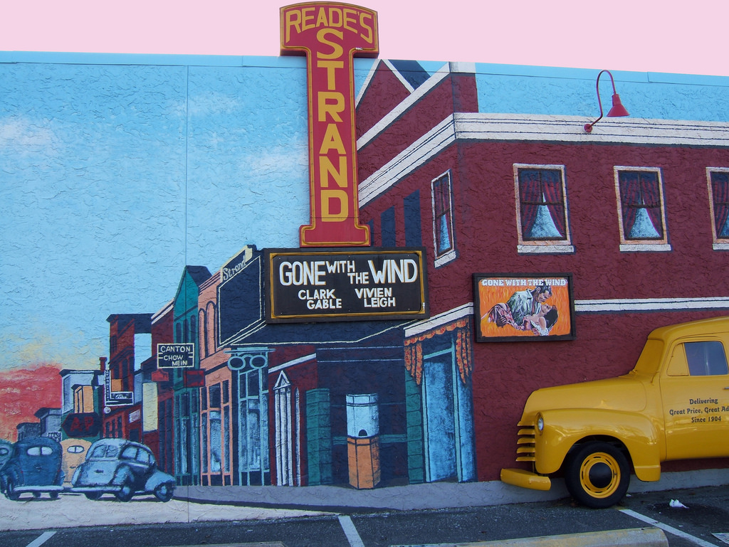 Wall Mural, Long Branch, NJ: Street Scen by Tony Fischer Photography, on Flickr