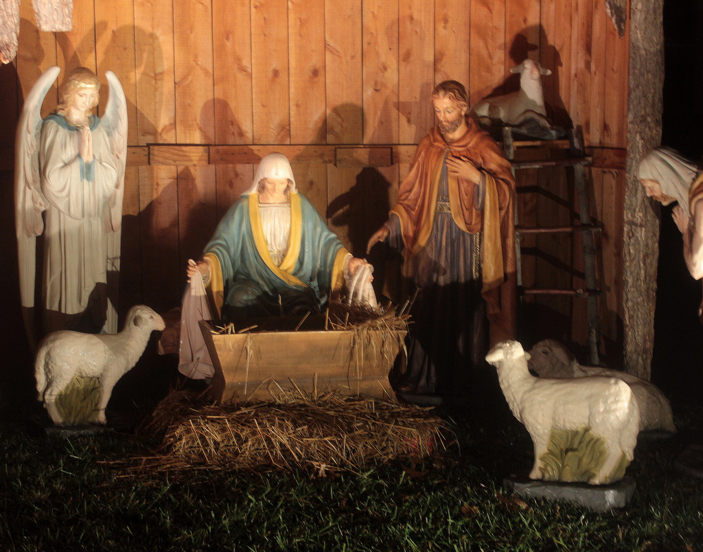 Nativity - Happy Christmas!   Listen and by fishhawk, on Flickr