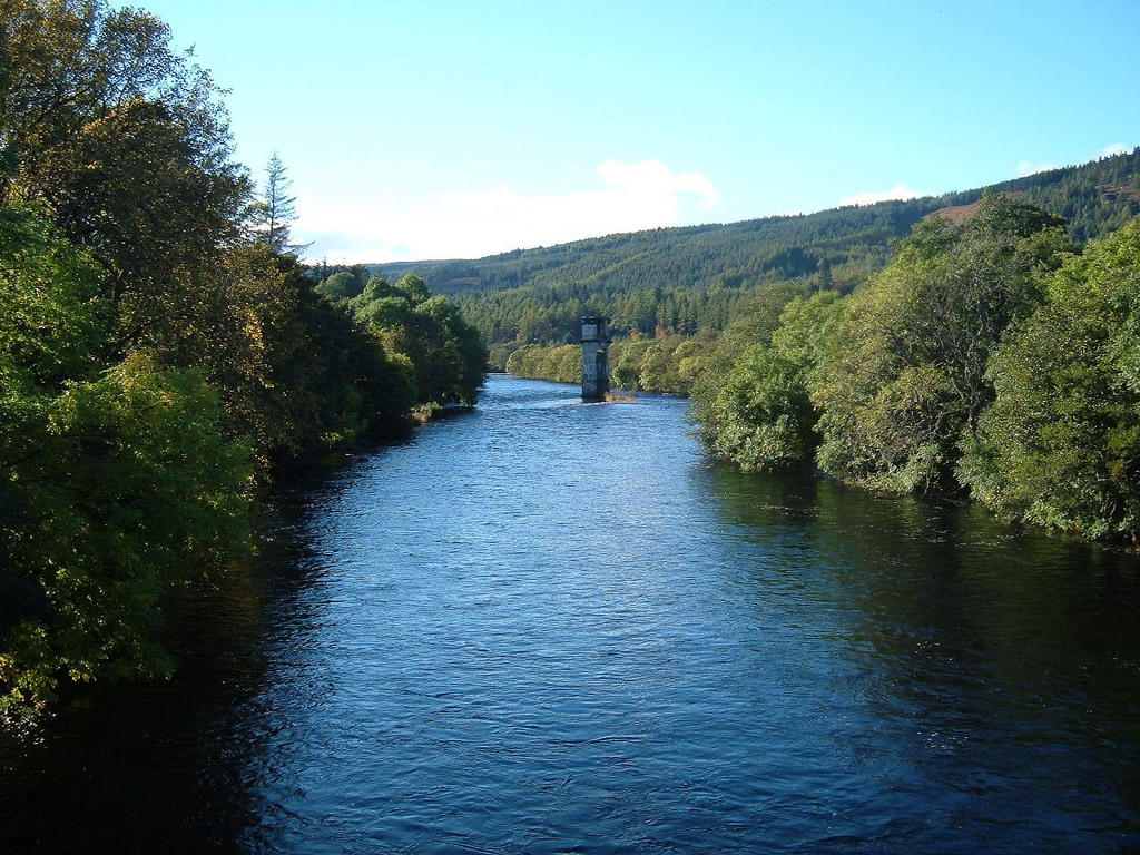 River Oich at Fort Augustus Loch Ness Sc by conner395, on Flickr