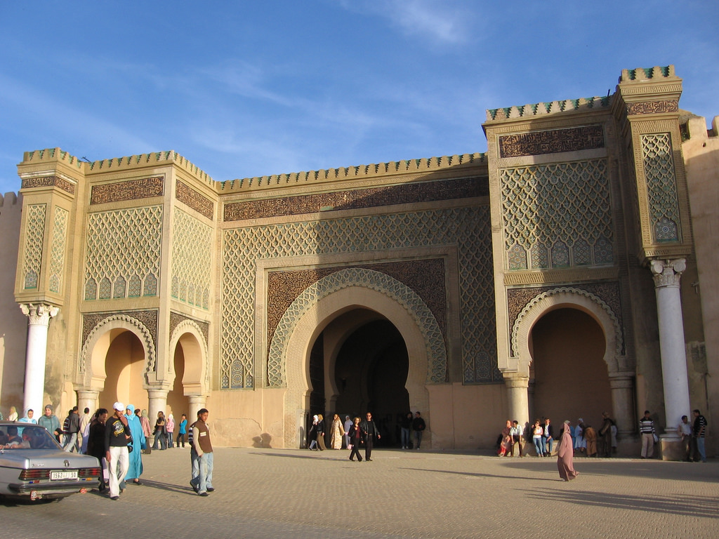 Bab Mansour, Meknes, Morocco-4 by Chrismartin76, on Flickr