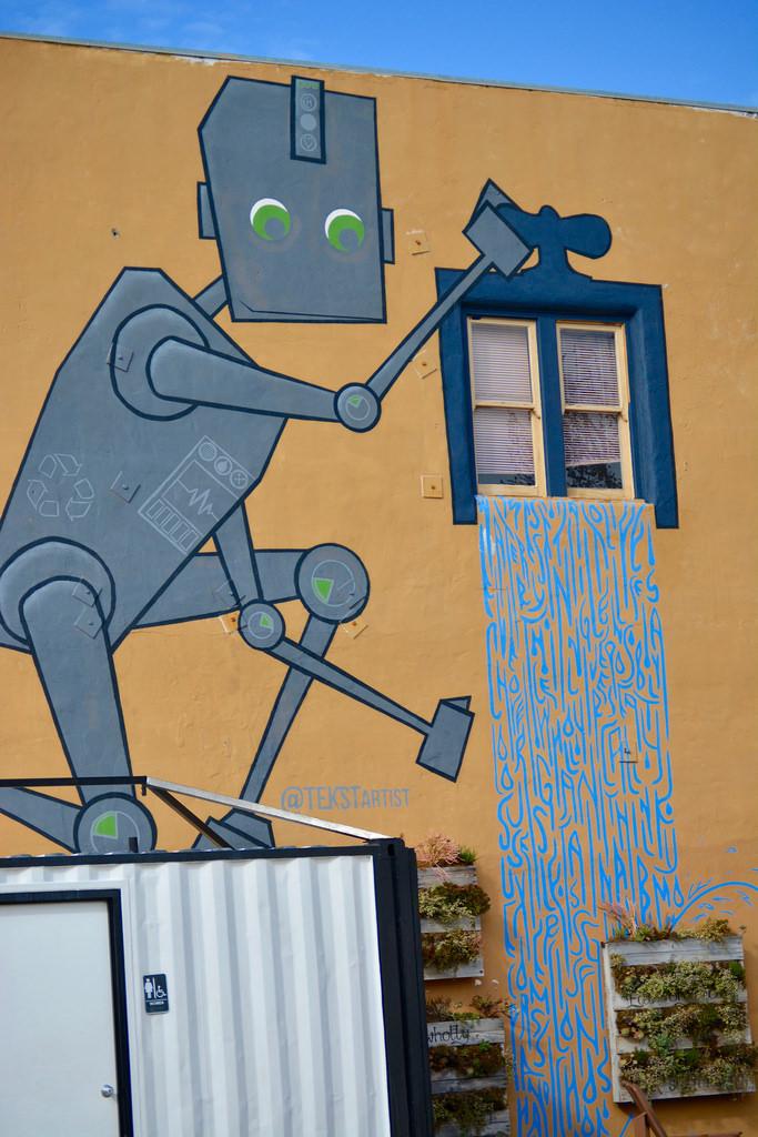 Robots don't conserve water by Jason Rosenberg, on Flickr