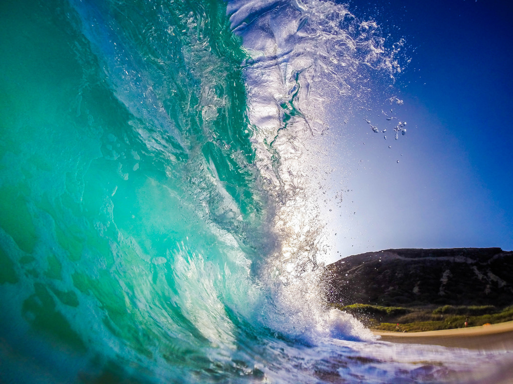 Shorebreak at Sandy Beach Park Oahu Hawa by Anthony Quintano, on Flickr