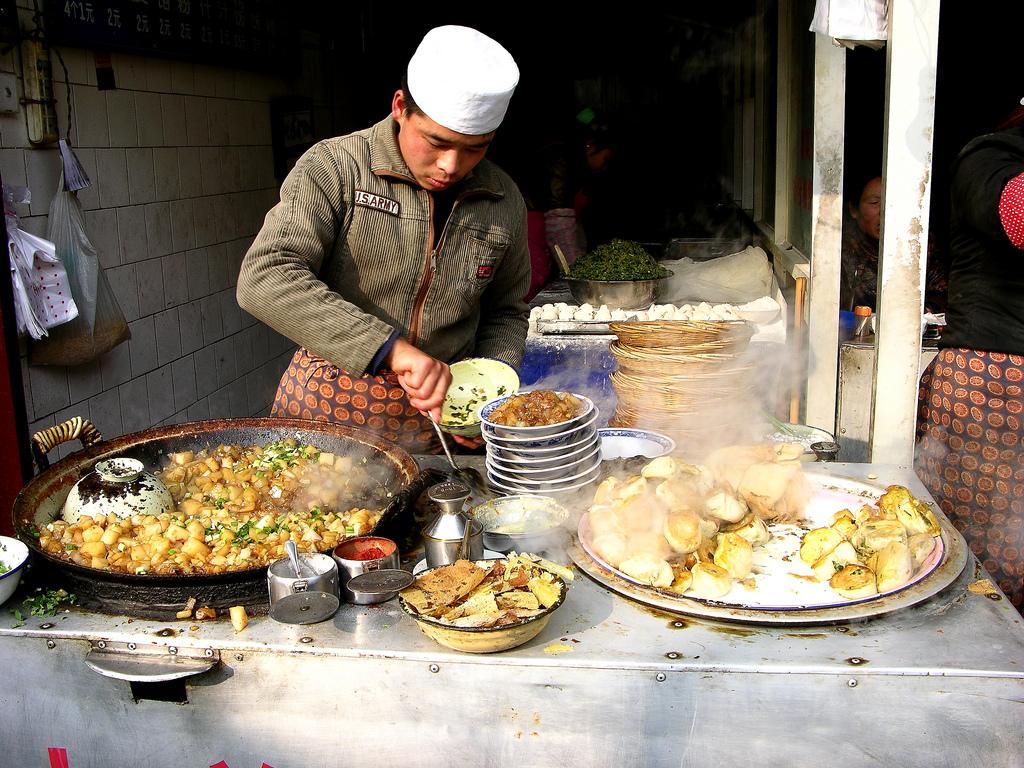 Xian Muslim Quarter by Carrie Kellenberger I globetrotterI, on Flickr