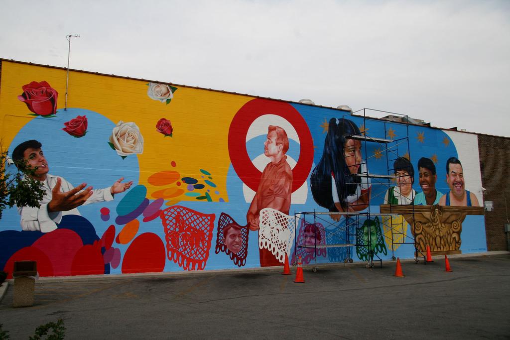 Jeff Zimmermann mural on El Milagro by Señor Codo, on Flickr