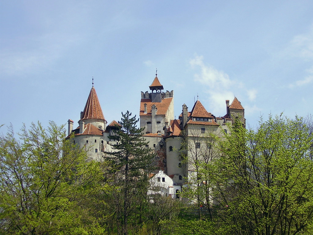Bran castle by tamburix, on Flickr