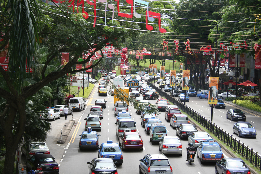 Another low traffic day in Singapore by Shaun Garrity, on Flickr