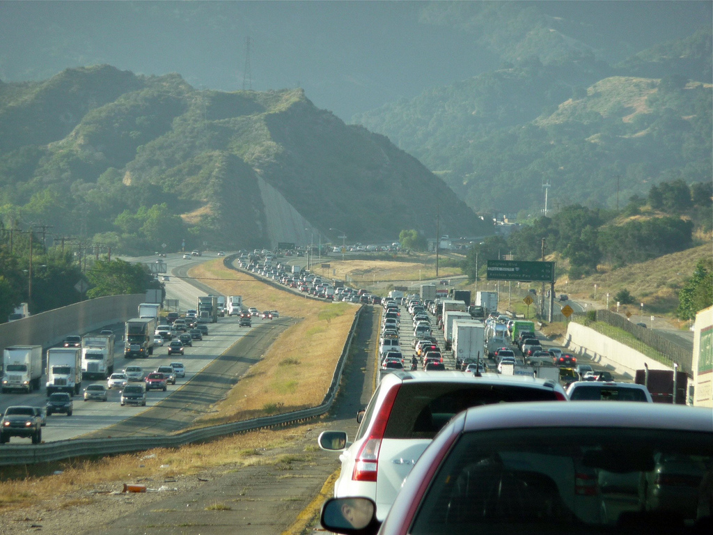 Los Angeles Traffic - The Newhall Pass by JefferyTurner, on Flickr
