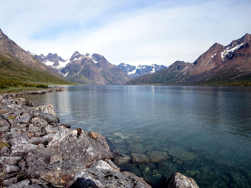 Lake off Tasermiut Fjord by D-Stanley, on Flickr