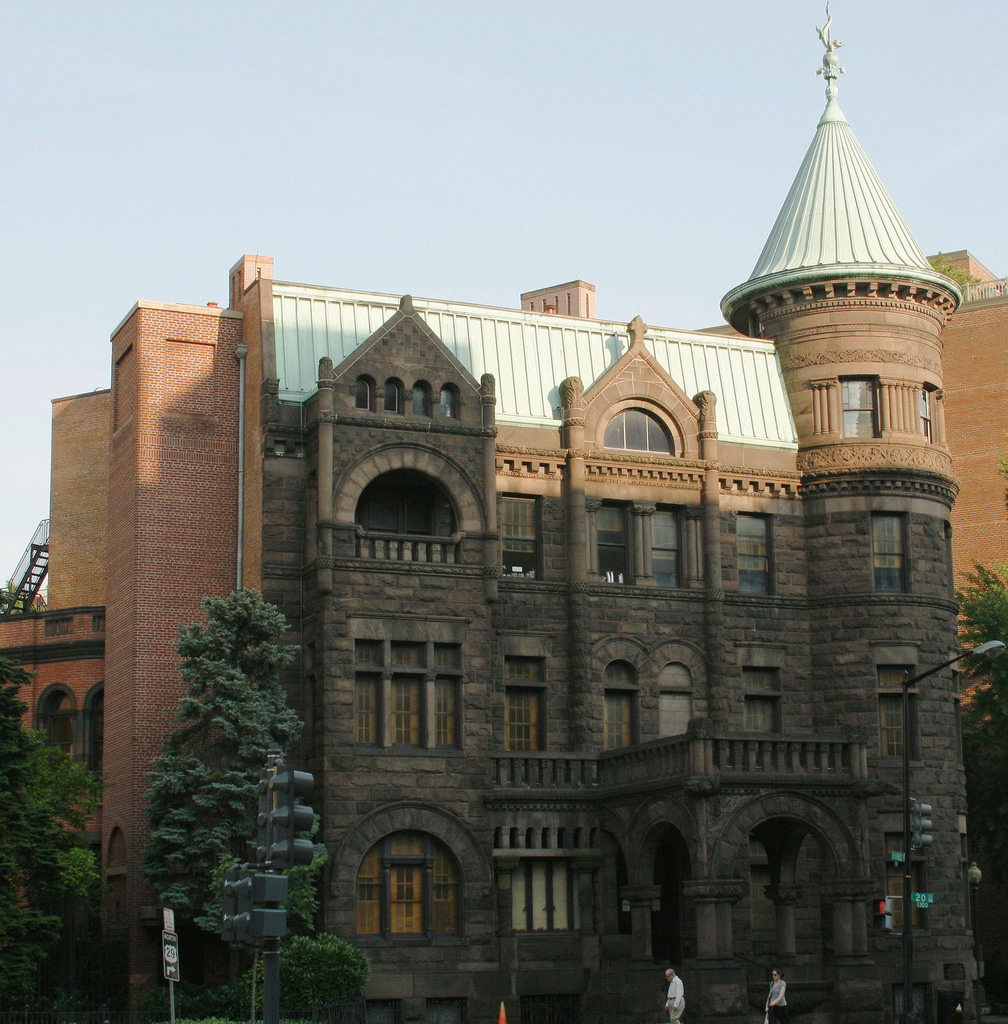 The Heurich Mansion  (The Brewmaster's C by dbking, on Flickr