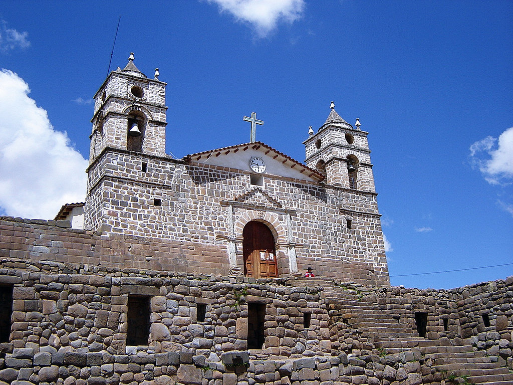 Catedral de Vilcashuamán, Ayacucho, Per by MI PERÚ, on Flickr
