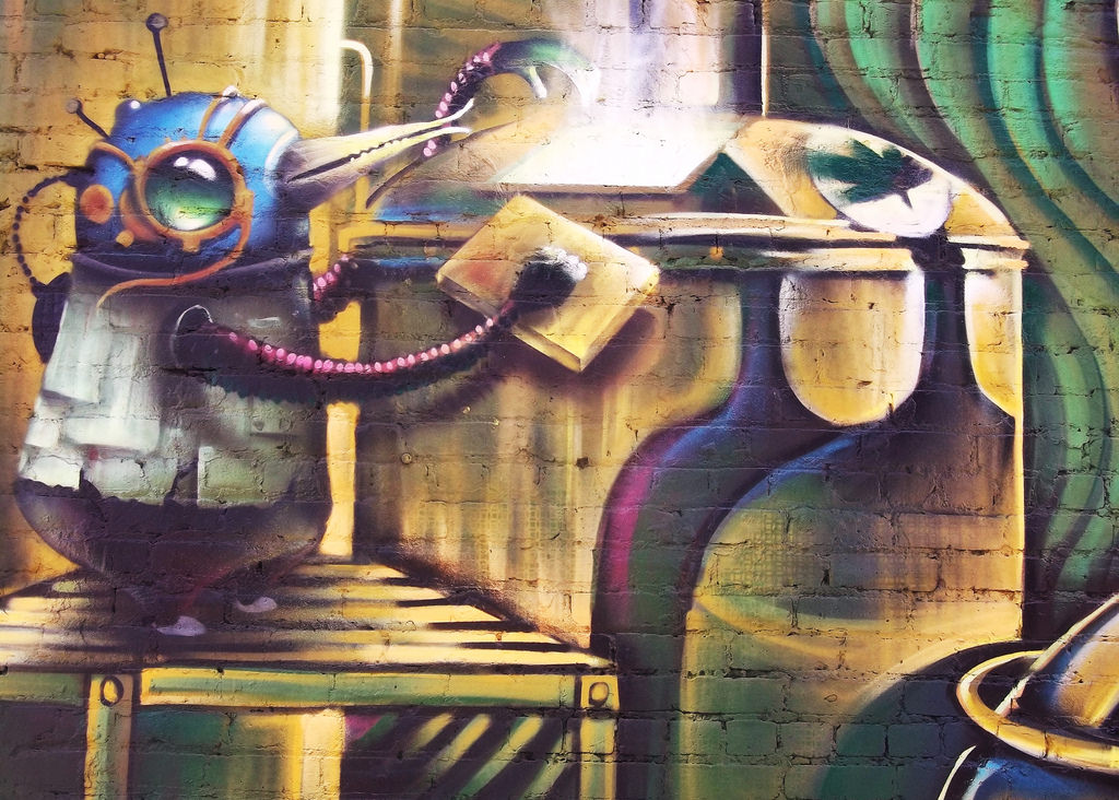 Mural: Alchemizing - (Oak Park Brewing C by jmf1007, on Flickr