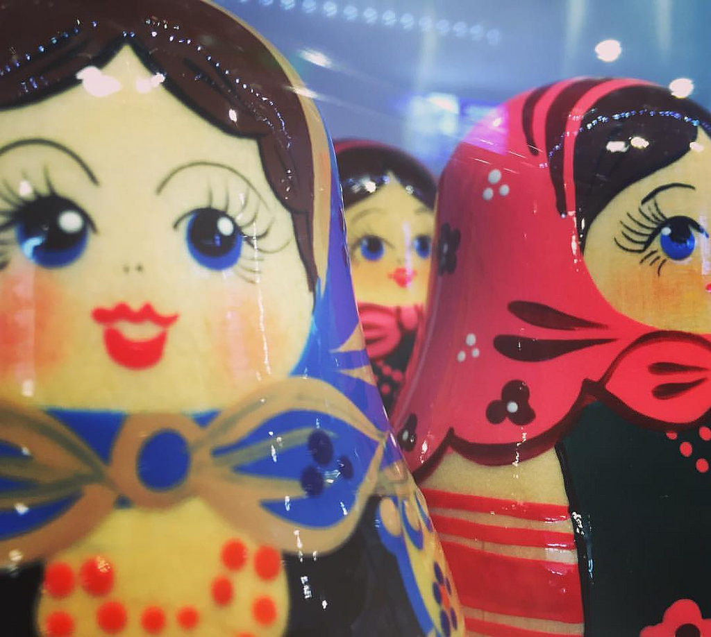 Matriosca #matriosca #Matryoshka #doll # by markhillary, on Flickr