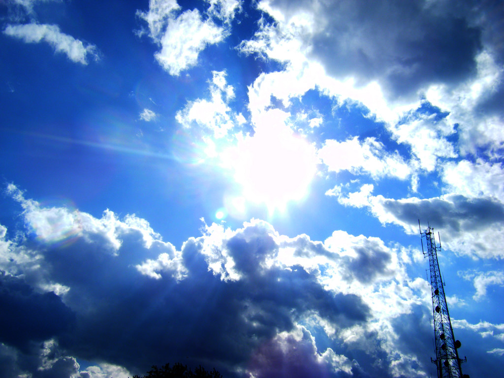 sun through clouds by ChrisHConnelly, on Flickr