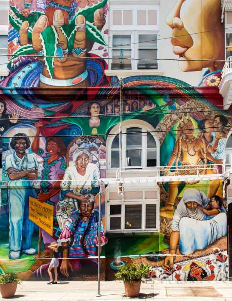 Wall Art, San Francisco by AjayGoel2011, on Flickr