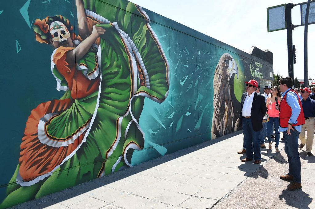 Supervisión del mural de la SEJUVA 17- by Gobierno de Aguascalientes, on Flickr