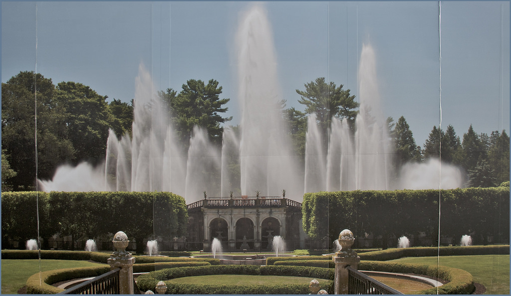 Billboard -- The Main Fountain Garden at by Ron Cogswell, on Flickr