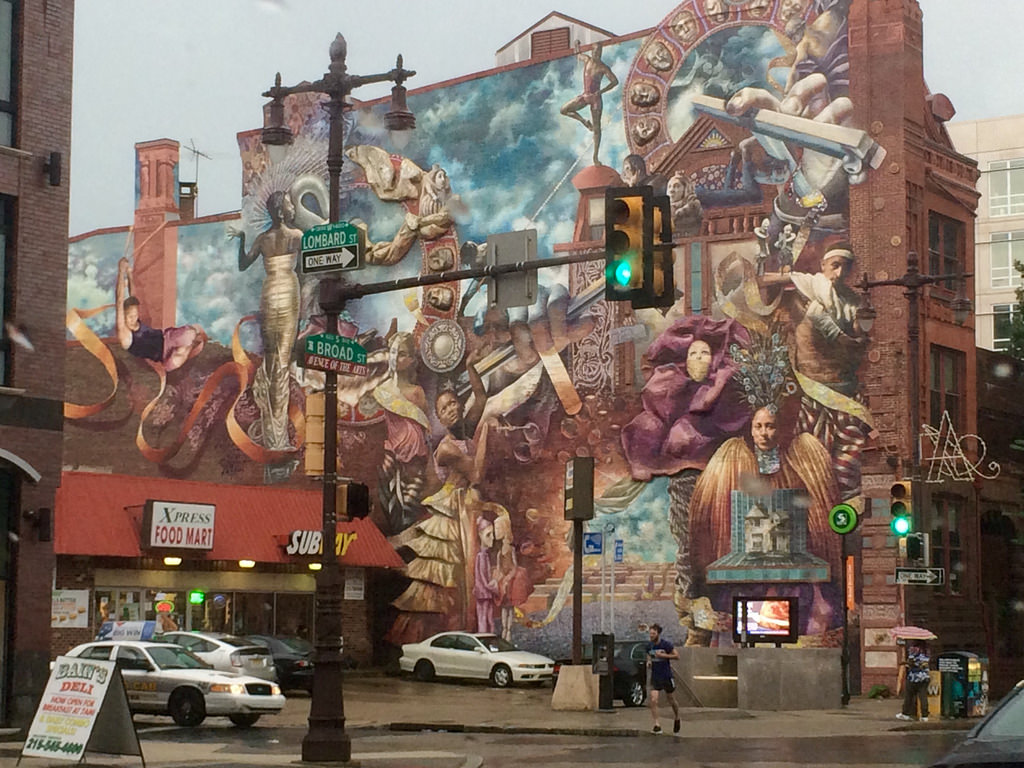Theater of Life Mural by Meg Saligman. S by stevendepolo, on Flickr