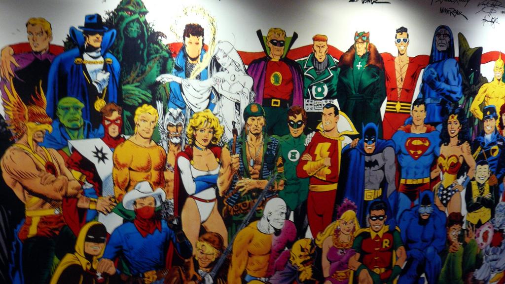 Superhero mural, DC Comics, NYC, NY 2.JP by gruntzooki, on Flickr