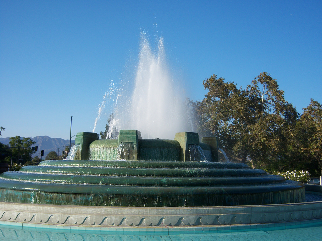 William Mullholand Memorial Fountain - G by tkksummers, on Flickr