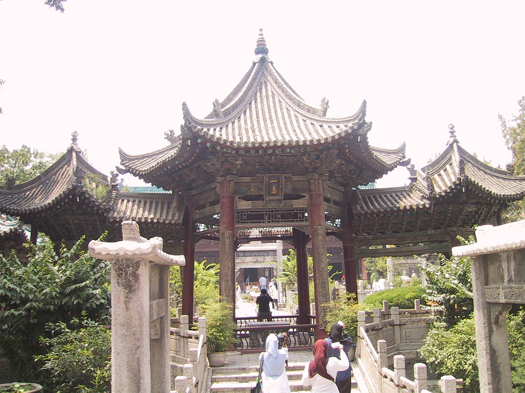 IMG_2243:  Great mosque of Xi'an by Omar A., on Flickr
