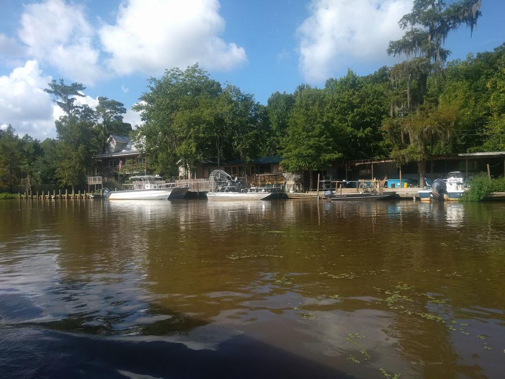 Fanboat, Cajun Pride Swamp Tour, Honey I by gruntzooki, on Flickr