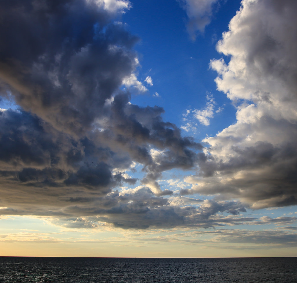 Lake Michigan clouds by kevin dooley, on Flickr