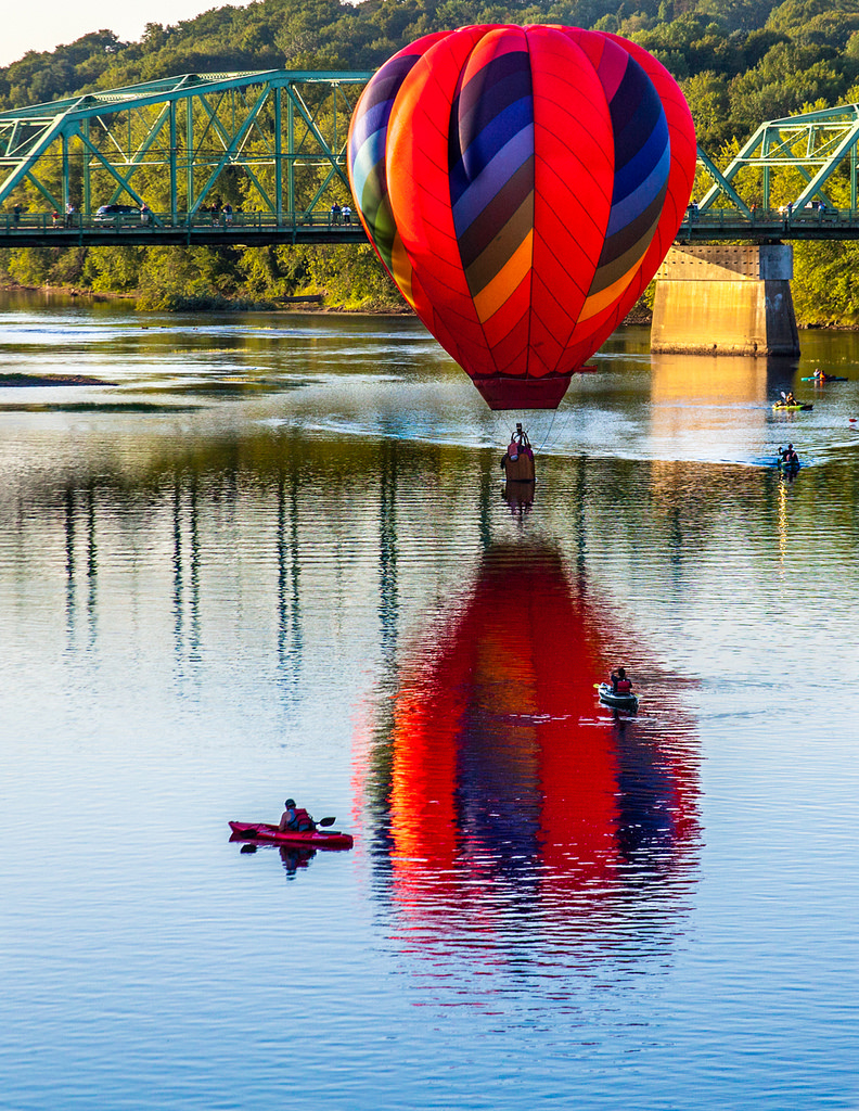 Hot Air Balloon by Me in ME, on Flickr