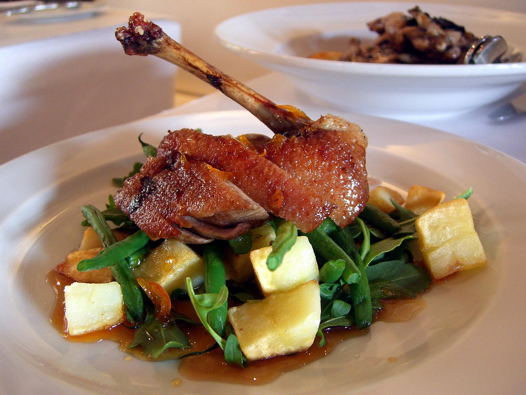 Duck Fillet - Annie Smithers Bistrot by avlxyz, on Flickr