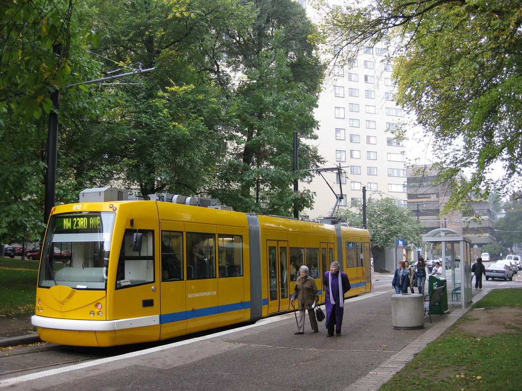 Streetcar at the Park Blocks of Portland by neighborhoods.org, on Flickr