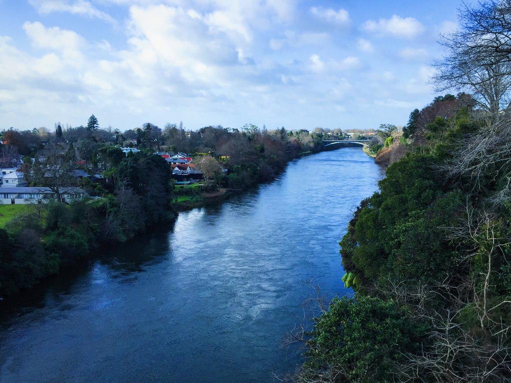 Waikato River, Hamilton, New Zealand (Ju by OzMark17, on Flickr