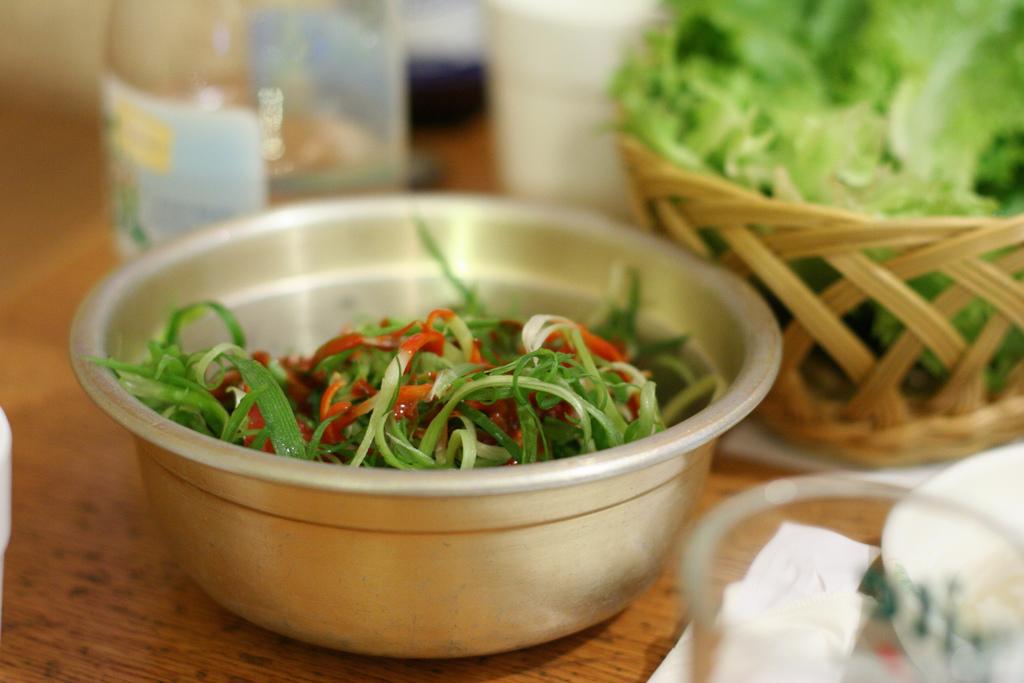 Korean food by Geoff Peters 604, on Flickr