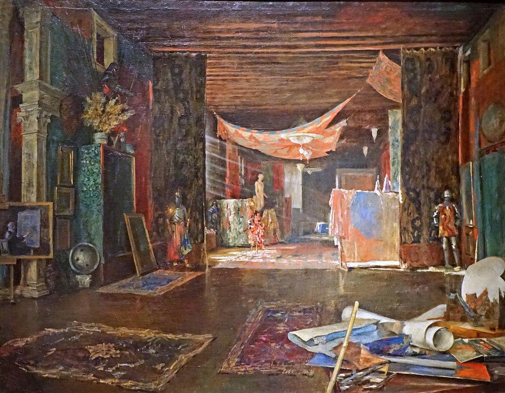 L'atelier de l'artiste (musée Fortuny, by dalbera, on Flickr