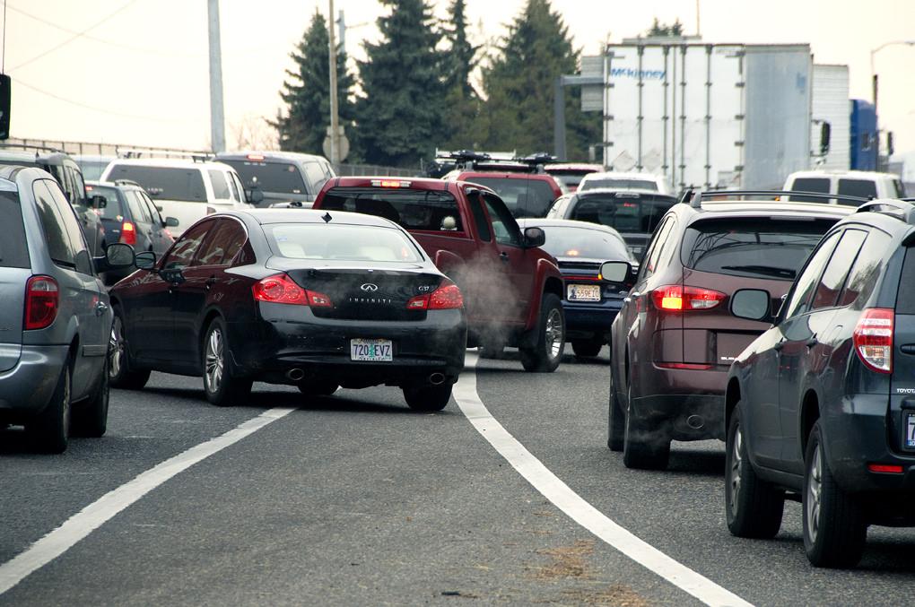 Merging traffic by OregonDOT, on Flickr