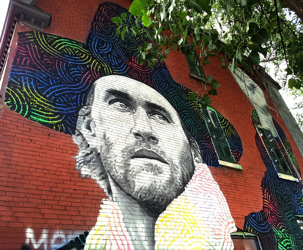Roy Dupuis Mural by Exile on Ontario St, on Flickr